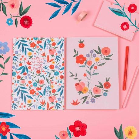 Pack 2 cuadernos cosidos La Casita de Wendy