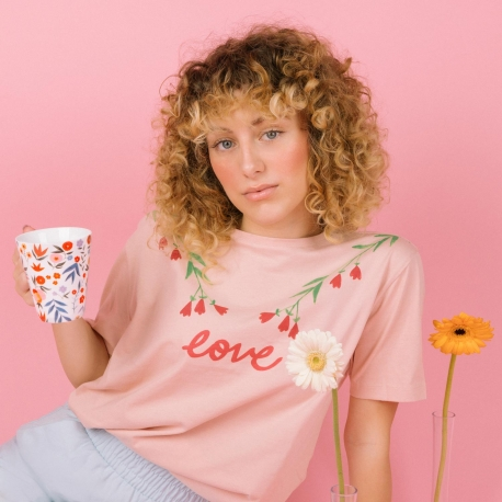 Camiseta LOVE La Casita de Wendy