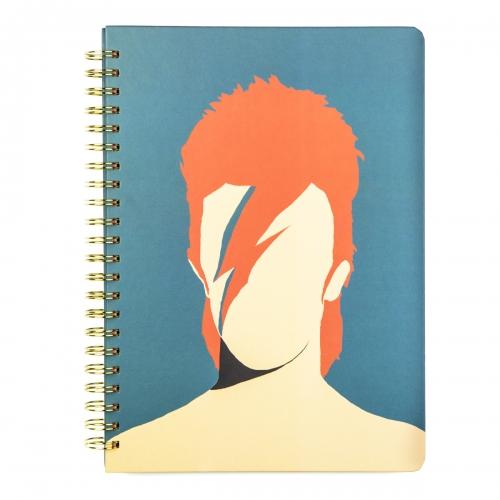 """Libreta A4 tapa dura """"Bowie"""" de Coco Dávez"""