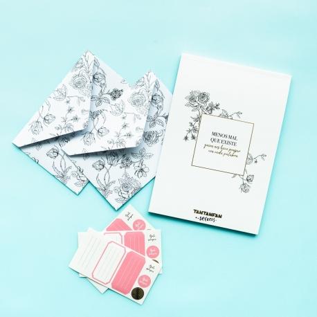 Pack Cartas y sobres de Defreds