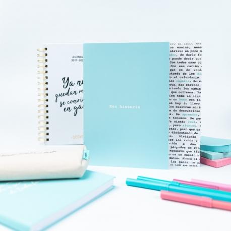 """Pack 2 cuadernos cosidos """"Palabras"""" de Defreds"""