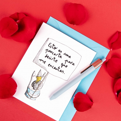 Tarjeta amor de Aitor Saraiba