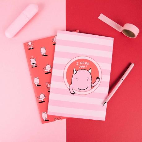 Pack 2 cuadernos cosidos de Lyona