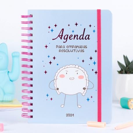 Agenda anual semanal 2021 Croqueta y Empanadilla