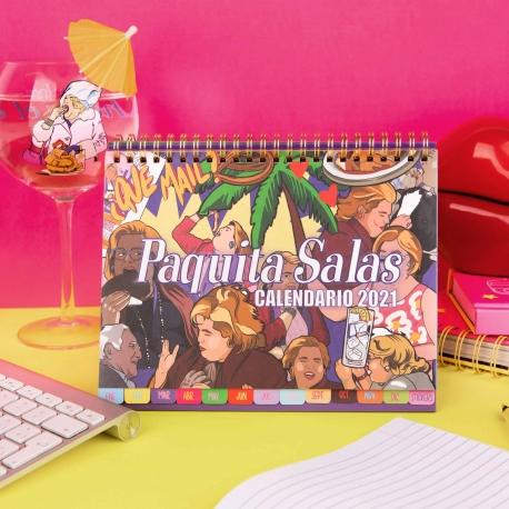 Calendario de mesa 2021 Paquita Salas