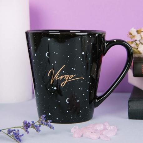 Taza mug Horóscopo Negro Virgo