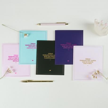 Pack 5 postales de La Vecina Rubia